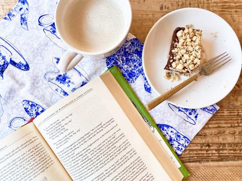 Recipes for Cozy Reading — Chai Tea Latte and Oatmeal Fudge Bars
