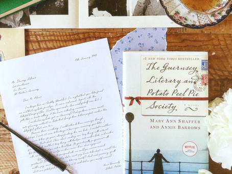 """A First Meeting with """"The Guernsey Literary and Potato Peel Pie Society"""""""