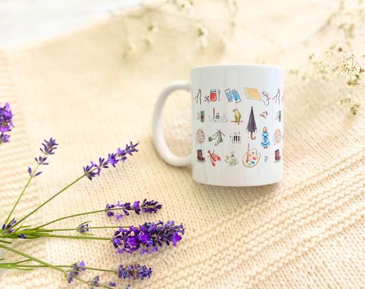 Little Women Motif 11. oz Mug