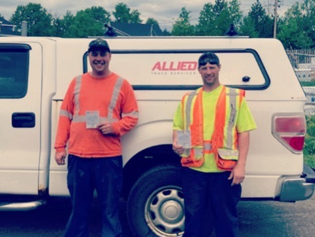 Safety Award of the Month: Steve Cornwall and Bob Bridge