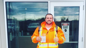 Safety Award of the Month: Adam Miller