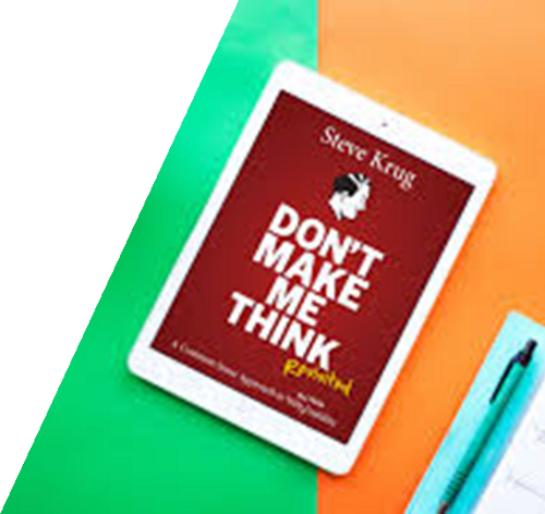 Book: Don't Make Me Think by Steve Krug