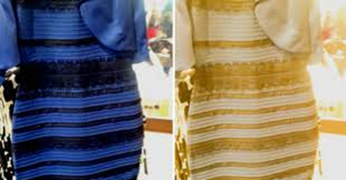 The Dress - black and blue or white and gold