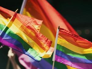 Além do arco-íris.