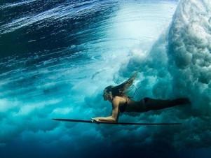 Surfar ou mergulhar?
