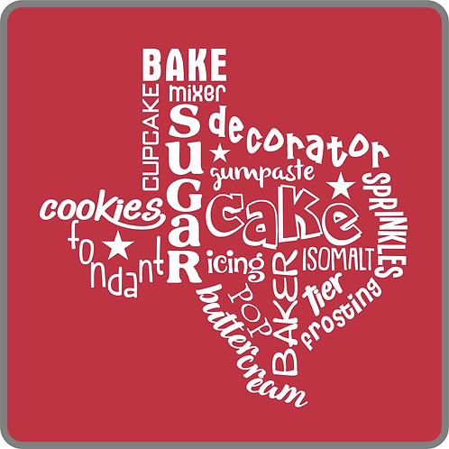 Texas Cake Words