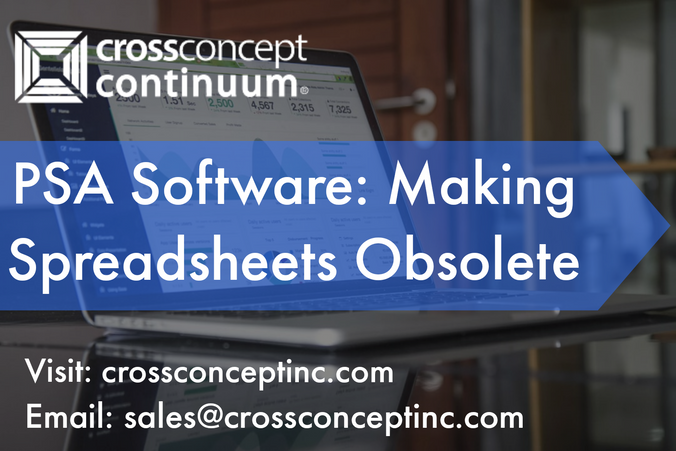 PSA Software: Why It Makes Spreadsheets Obsolete!