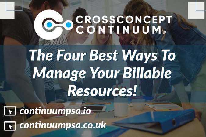The Four Best Ways To Manage Your Billable Resources