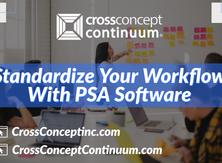Standardize Your Workflow With PSA Software