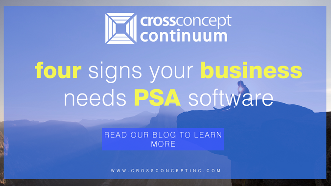 Four Signs Your Business Needs PSA Software