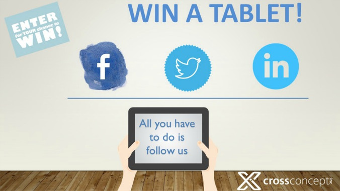 Win a Tablet! - Contest now Closed