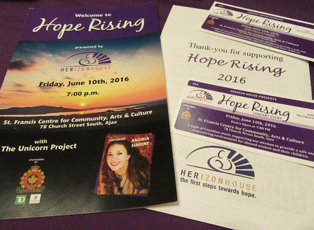 CrossConcept, Inc. Supports Herizon House at Hope Rising