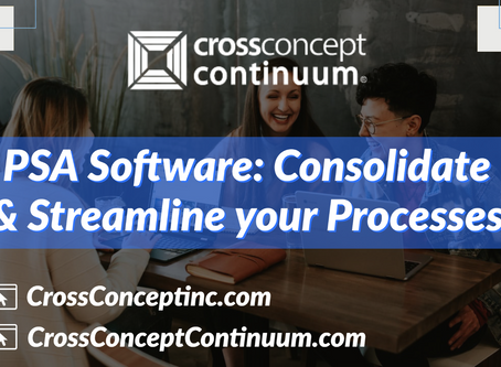 PSA Software: Consolidate & Streamline your Processes