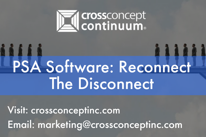 PSA Software: Reconnect The Disconnect