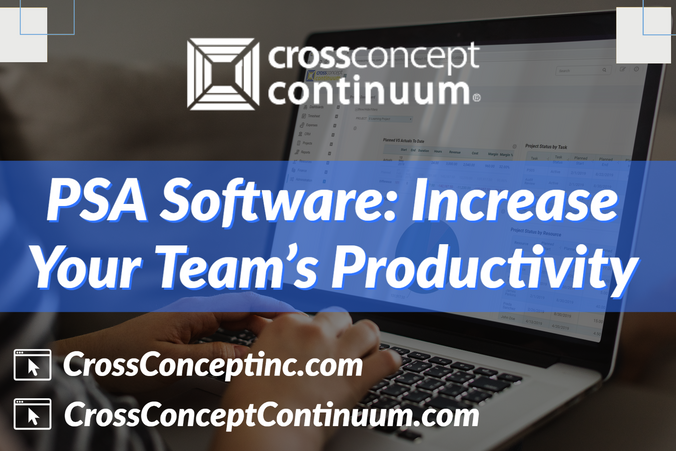 PSA Software: Increase Your Team's Productivity