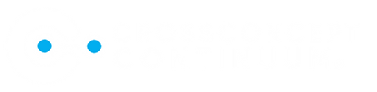 new continuum logo white with blue balls