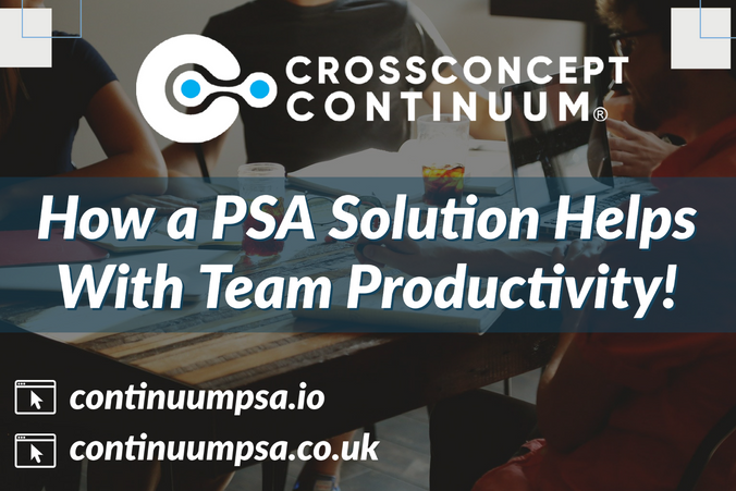 How a PSA Solution Helps With Team Productivity