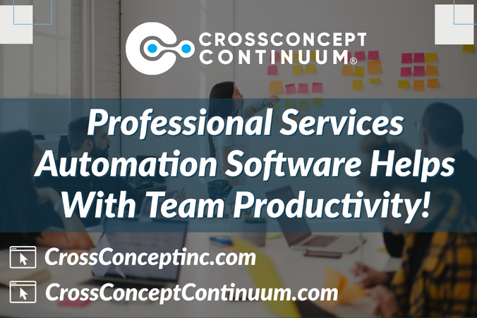 Professional Services Automation Software Helps With Team Productivity