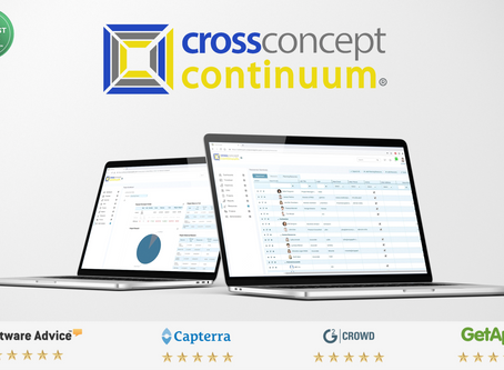 CrossConcept Celebrates Significant Milestone's, Awards & Growth in Professional Services Au