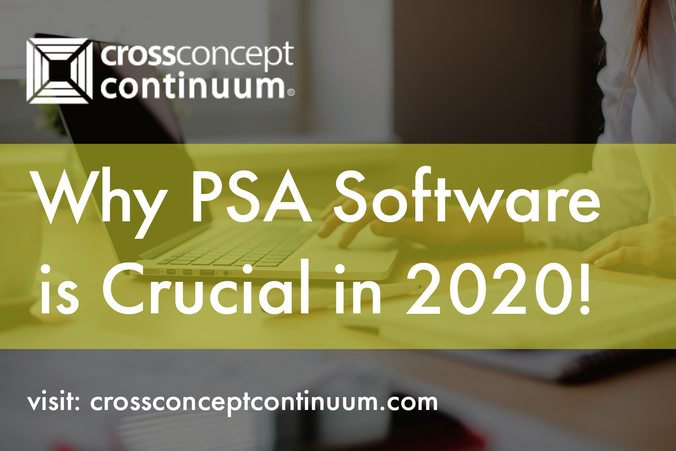 Why PSA Software is Crucial for Services Firms in 2020!