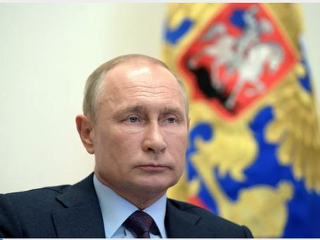 Ο Πούτιν άκουσε την έκθεση του Πολεμικού Ναυτικού για την πολύπλοκη αρκτική αποστολή