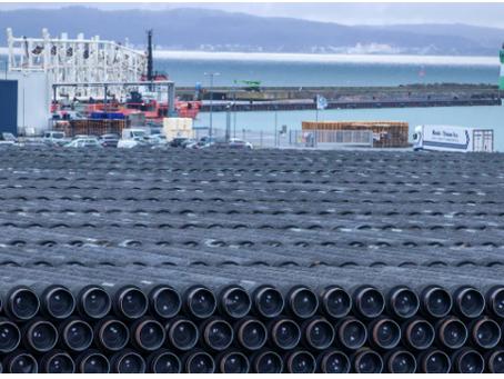"""Η Γερμανική κυβέρνηση απορρίπτει τις Αμερικανικές κυρώσεις κατά του Nord Stream 2 """""""