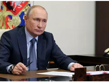 Ο Πούτιν ανέφερε τους στόχους της συνάντησης του με τον Μπάιντεν