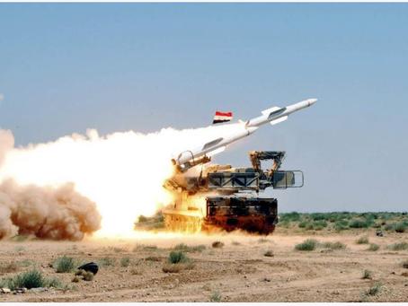 Η Συριακή αεράμυνα απέκρουσε  τα ισραηλινά πλήγματα    Αποτελέσματα της ημέρας στις 26.07.2021