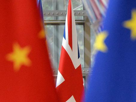 """Το Κινεζικό Υπουργείο Εξωτερικών ανακοινώνει κυρώσεις σε """"σχετικά πρόσωπα και οντότητες του ΗΒ"""