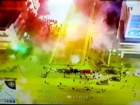 Το χρονικό των επεισοδίων στην Νεά Σμύρνη με τρεις  αστυνομικούς  τραυματίες