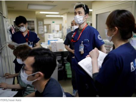 Στο Τόκιο, εντοπίστηκε αριθμός ρεκόρ κρουσμάτων κοροναϊού σε διάστημα 24 ωρών