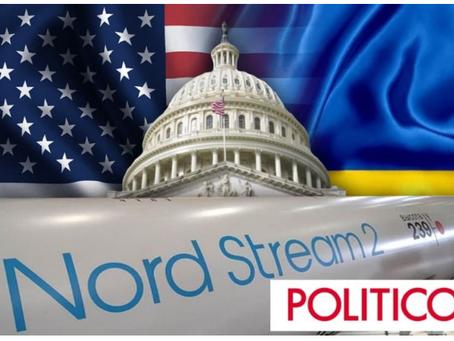 Politico: Οι ΗΠΑ προτρέπουν την Ουκρανία να μην εμποδίσει το έργο Nord Stream 2