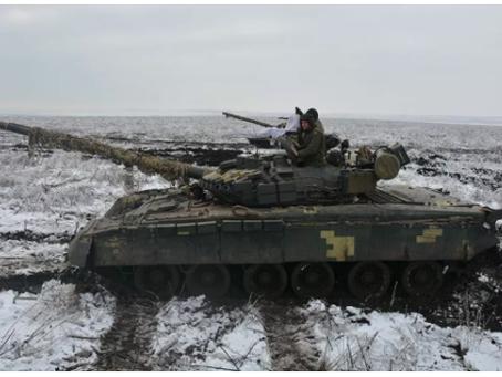Οι μάχες συνεχίστηκαν στο Donbass