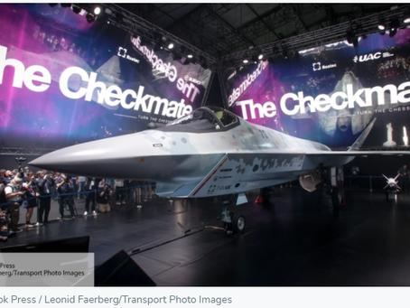 Sohu: Το μαχητικό αεροσκάφος Checkmate θα αλλάξει τις σχέσεις Ρωσίας-ΗΠΑ