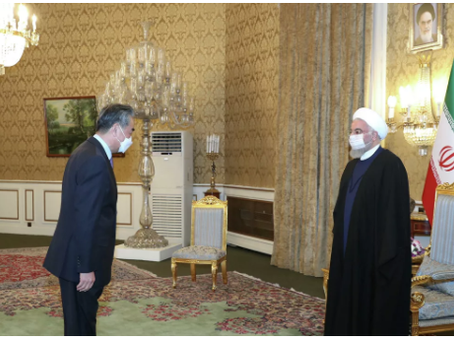 Το Ιράν και η Κίνα υπογράφουν συμφωνία στρατηγικής συνεργασίας διάρκειας 25 ετών