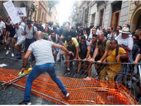 Η αεροπορική εταιρεία έχει πληγεί από τα διαδοχικά λουκέτα των ιταλικών αρχών