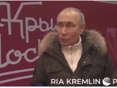 Ο Πούτιν προσκαλεί τον Μπάιντεν σε ανοιχτή συζήτηση