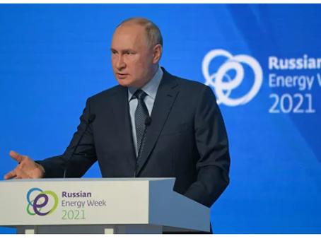 Μόνο όσοι άκουσαν τον Πούτιν θα ζεσταθούν στην Ευρώπη