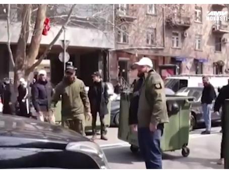 Συνεχίζονται οι διαμαρτυρίες στο Ερεβάν