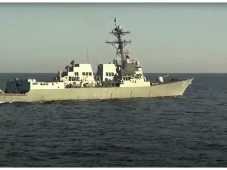 Ο Υποναύαρχος σχολίασε το περιστατικό με το αντιτορπιλικό στη Θάλασσα της Ιαπωνίας