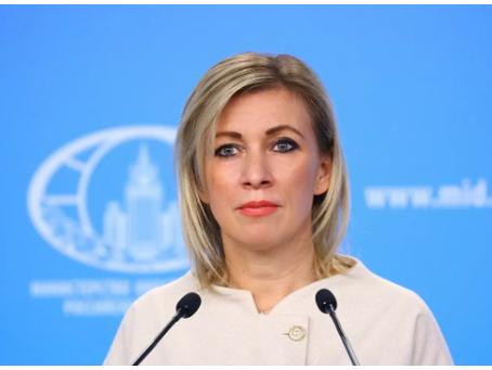 Η Ζαχάροβα επέκρινε τη συμπεριφορά των δυτικών γίγαντων του Διαδικτύου
