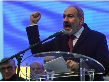 Ο Πασινιάν ανακοίνωσε την ημερομηνία διεξαγωγής πρόωρων βουλευτικών εκλογών στην Αρμενία