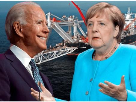 Το Κίεβο εξοργίστηκε από τη συμφωνία ΗΠΑ-Γερμανίας για τον Nord Stream 2