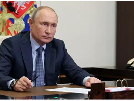 Ο Πούτιν σχολίασε τη σκανδαλώδη δήλωση του Μπάιντεν στην ομιλία του