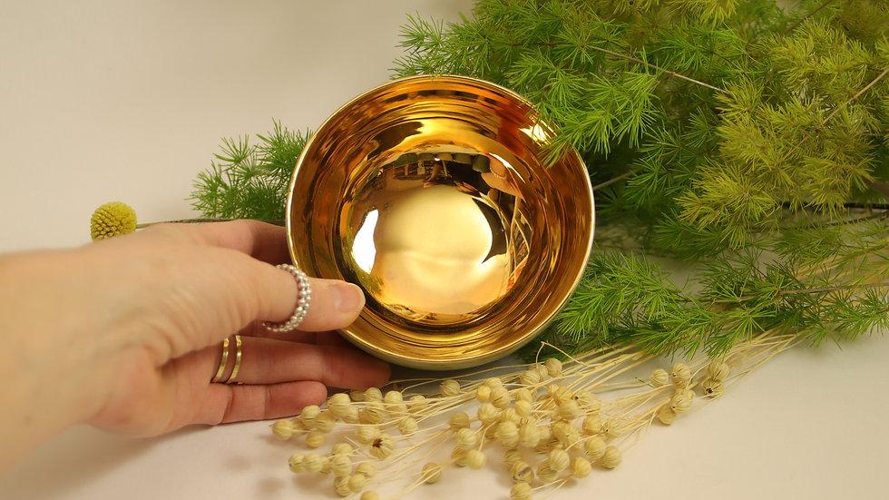 """Teeschale """"Shiny Gold"""""""