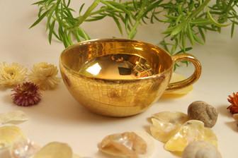 Shiny meets Vintage Gold