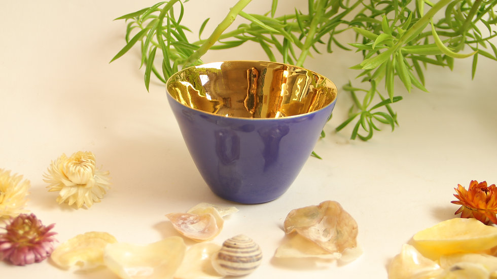 """Aperitif Schälchen """"Shiny Gold"""""""
