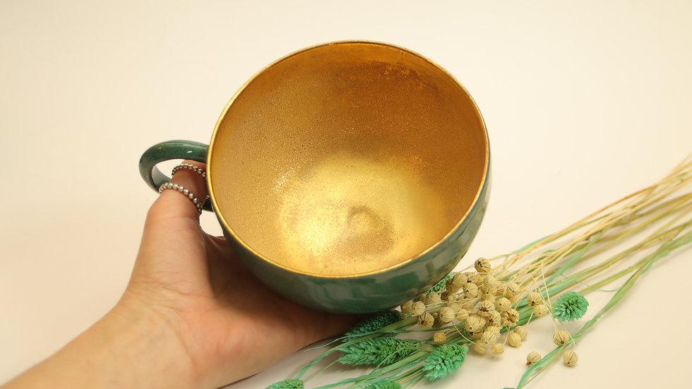 """Riesen Tasse """"Crystal Gold"""""""