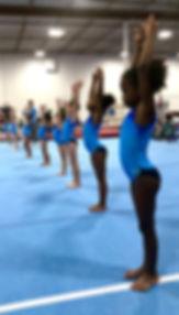 pre team gymnastics