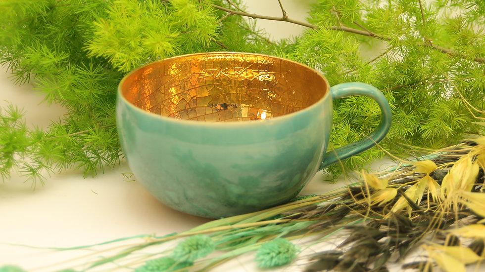 """Riesen Tasse """"Vintage Gold"""""""